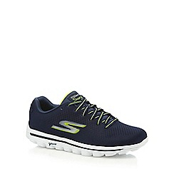 Skechers - Navy canvas 'Surge' trainers