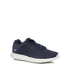 Skechers - Navy 'Go Walk City Retain' trainers