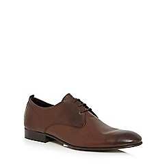 Base London - Brown leather 'Business' Derby shoes