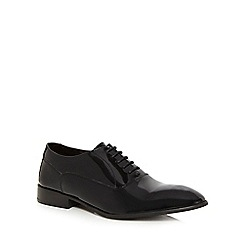 Base London - Black leather 'Holmes' Oxford shoes