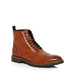 Base London - Tan 'Siege' boots