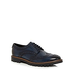 Base London - Navy 'Trench' brogues