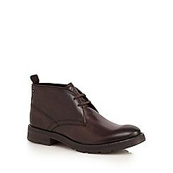 Base London - Brown 'Archer' chukka boots