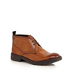 Base London - Tan 'Archer' chukka boots