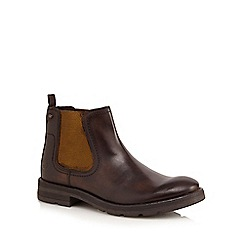 Base London - Brown 'Challenger' Chelsea boots