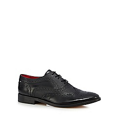 Base London - Black patent 'Strand' brogues