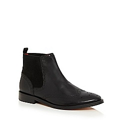 Base London - Black 'Compton' Chelsea boots