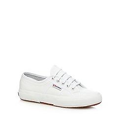 Superga - White 'Fglu' lace up shoes