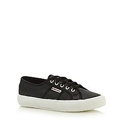 Superga - Black 'Fglu' lace up shoes