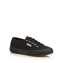 Superga - Black 'Cotu Classic' lace up shoes