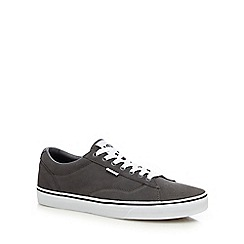 Vans - Grey suede 'Dawson' lace up shoes