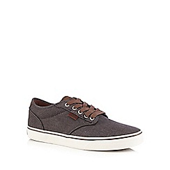 Vans - Grey 'Atwood Deluxe' lace up shoes