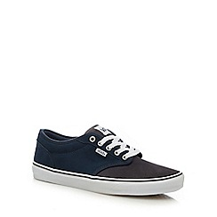 Vans - Navy suede 'Atwood' lace up shoes