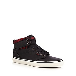 Vans - Black 'Atwood' high top lace up shoes