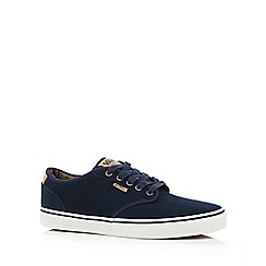 Vans - Navy 'Atwood' lace up shoes