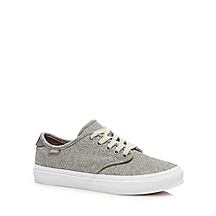 Vans - Grey 'Camden Deluxe' wool trainers