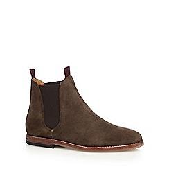 H By Hudson - Khaki 'Tamper' Chelsea boots