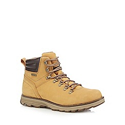 Caterpillar - Light brown 'Sire' boots