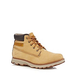 Caterpillar - Beige 'Founder' boots