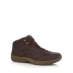 Caterpillar - Brown leather boots