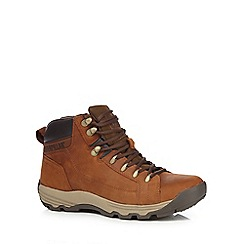 Caterpillar - Tan leather 'Supersede' boots