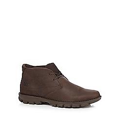 Caterpillar - Brown 'Mitch' chukka boots