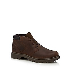 Caterpillar - Brown 'Stout' chukka boots