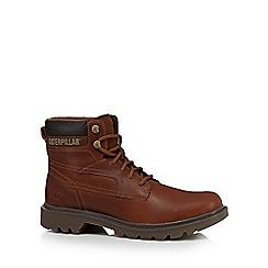 Caterpillar - Brown 'Bridgeport' ankle boots