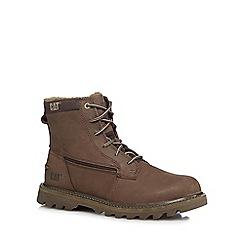 Caterpillar - Brown 'swingshift' boots