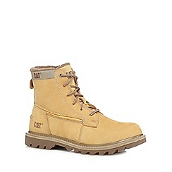 Caterpillar - Beige 'swingshift' boots