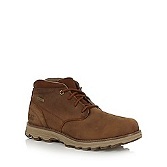 Caterpillar - Tan 'Elude' waterproof boots