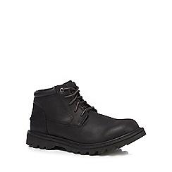 Caterpillar - Black 'Doubleday' chukka boots
