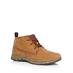 Caterpillar - Beige 'Cue' chukka boots
