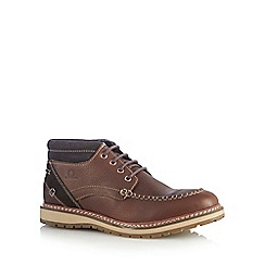 Chatham Marine - Dark brown 'Albion' shoe boots