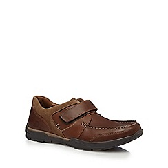 Chatham Marine - Brown 'George' apron shoes
