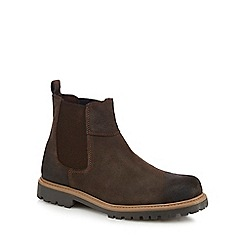 Chatham Marine - Dark brown leather Chelsea boots