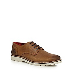 Chatham Marine - Tan leather 'Dexter' lace up shoes