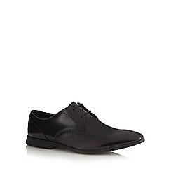 Clarks - Black patent leather 'Bampton Limit' Derby shoes