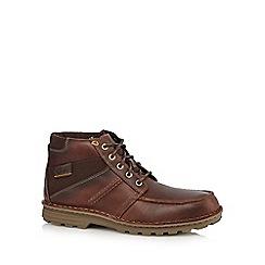 Clarks - Black 'Dunnerdale' boots