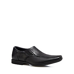 Clarks - Black 'Forbes Step' leather shoes