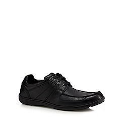 Clarks - Black 'Bradley Star' casual lace up shoes