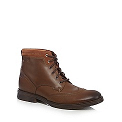 Clarks - Brown 'Devinton' high boots