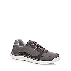 Clarks - Grey 'Votta Edge' trainers