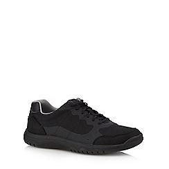 Clarks - Black 'Votta Edge' lace up shoes