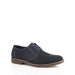 Rieker - Blue leather 'antistress' derby shoes