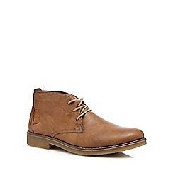 Rieker - Tan leather desert boots