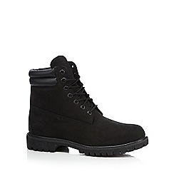 Timberland - Black leather boots