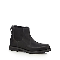 Timberland - Black leather 'Larchmont' Chelsea boots