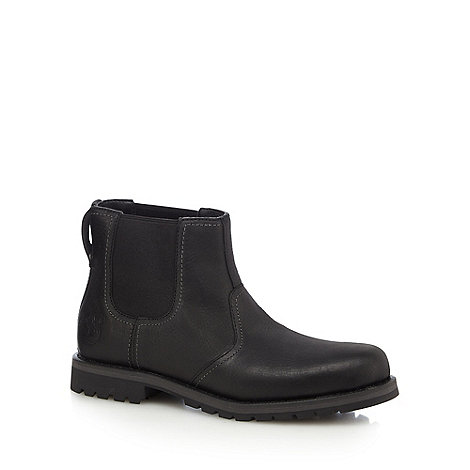 Timberland - Black leather +Larchmont+ Chelsea boots