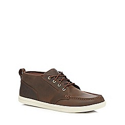 Timberland - Dark brown 'Fulk' lace up shoes